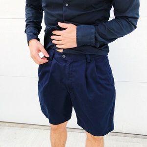 Men's Dockers Navy Blue Shorts